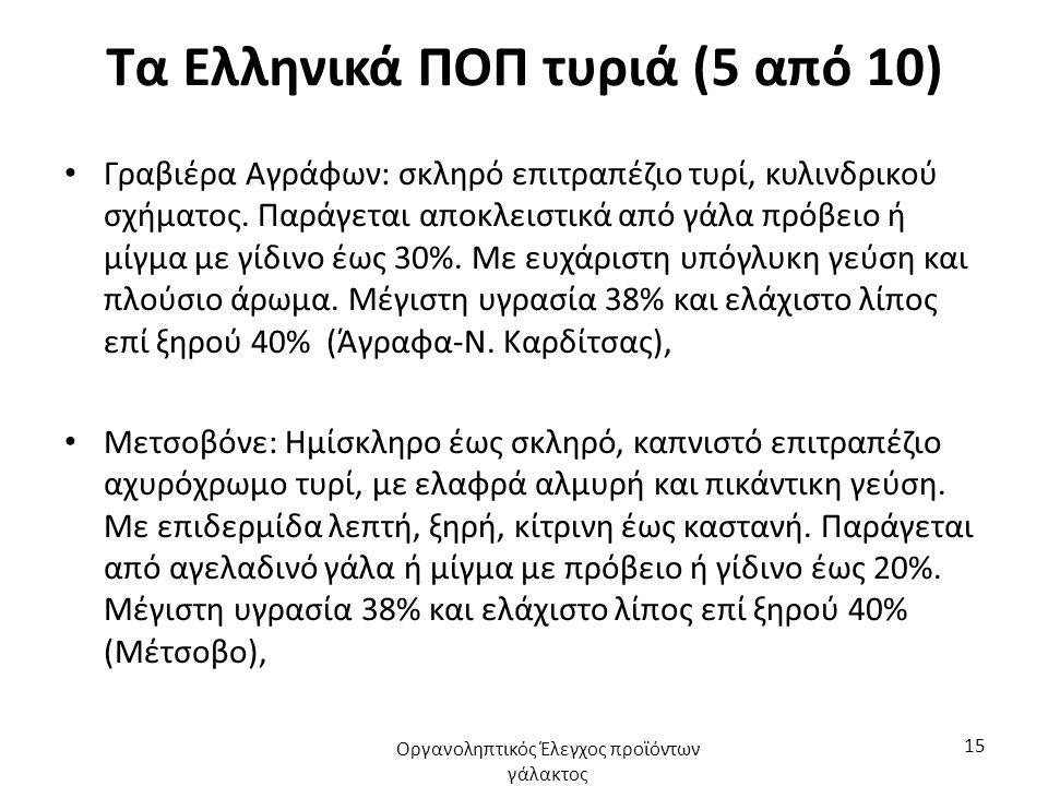 Τα Ελληνικά ΠΟΠ τυριά (6 από 10) Γραβιέρα Κρήτης: σκληρό επιτραπέζιο τυρί, κυλινδρικού σχήματος με συμπαγή ελαστική μάζα, στην οποία υπάρχουν οπές.