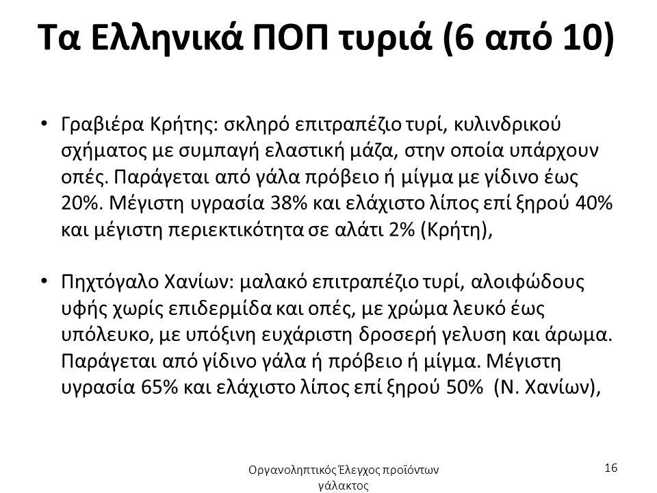 Τα Ελληνικά ΠΟΠ τυριά (7 από 10) Γραβιέρα Νάξου: Σκληρό επιτραπέζιο τυρί κυλινδρικού σχήματος, με ευχάριστη γεύση και ελαφρύ άρωμα.