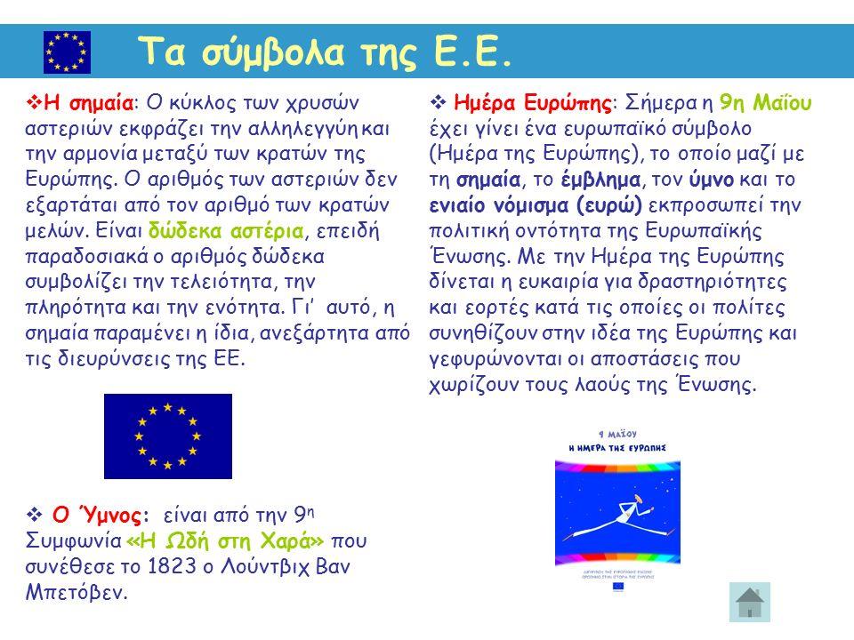 Τα σύμβολα της Ε.Ε.