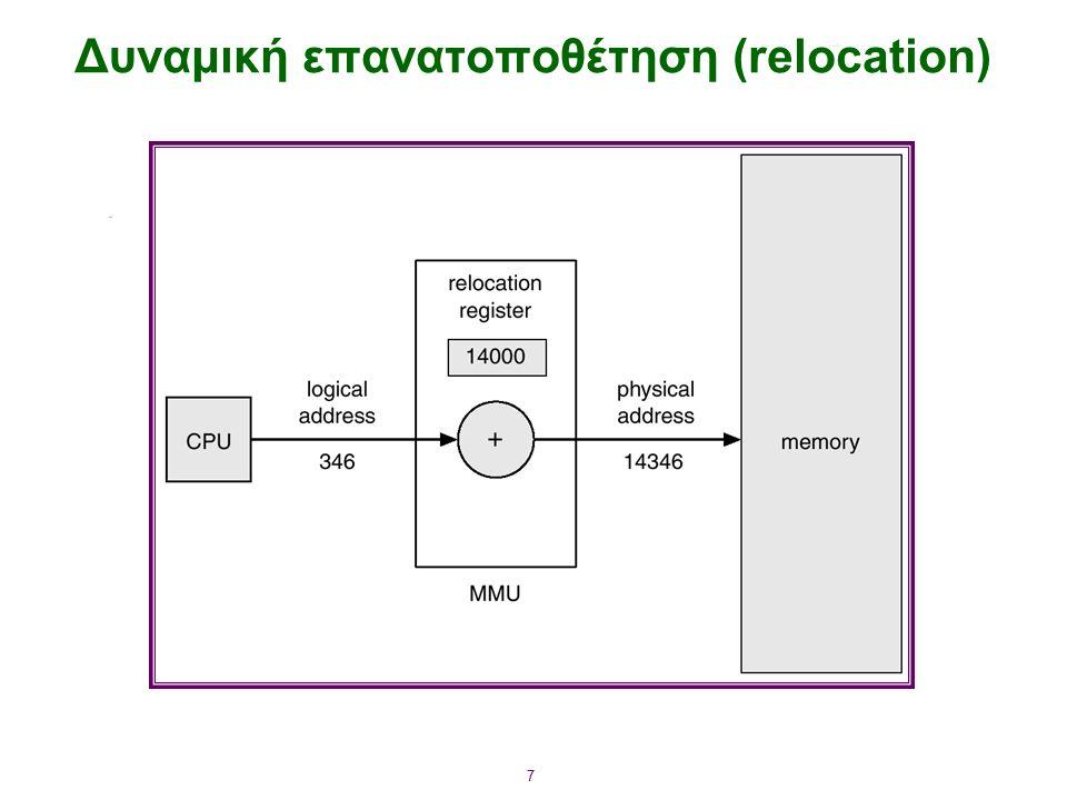 7 Δυναμική επανατοποθέτηση (relocation)