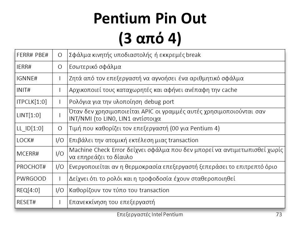 Pentium Pin Out (3 από 4) Επεξεργαστές Intel Pentium73