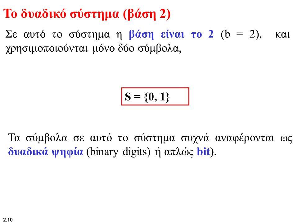 """Συστήματα Κωδικοποίησης Το """"A"""" αναπαρίσταται από την ακολουθία 1 byte= 8 bits Το """"A"""" αναπαρίσταται από την ακολουθία 1 byte= 8 bits 01000001 A A Encod"""