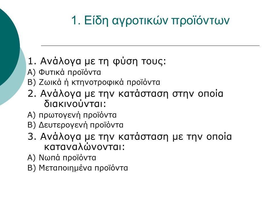Ειδικά αίτια δημιουργίας του προβλήματος διάθεσης των ελληνικών αγροτικών προϊόντων  Αναποτελεσματικό σύστημα εμπορίας  Απουσία οργανωμένων αγροτικών εμπορικών επιχειρήσεων  Ανυπαρξία εξειδικευμένων στελεχών  Ανεπαρκής σύγχρονη υποδομή εμπορίας  Πολλοί και μικροί παραγωγοί  Υψηλό κόστος παραγωγής  Μεγάλος αριθμός μικρών εξαγωγέων  Ανεπαρκής συμμετοχή του κράτους στην οργάνωση της διάθεσης των αγροτικών προϊόντων  Η μεγάλη απόσταση της Ελλάδας από τα διεθνή καταναλωτικά κέντρα  Περιορισμός εξαγωγών σε λίγες αγορές