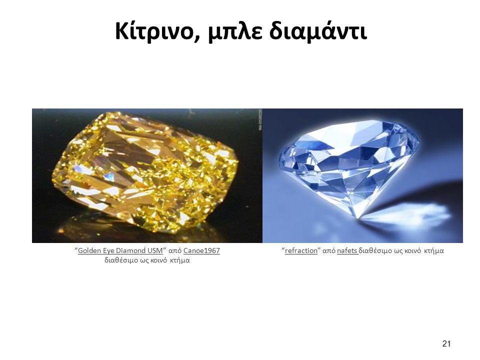Κίτρινο, μπλε διαμάντι Golden Eye Diamond USM από Canoe1967 διαθέσιμο ως κοινό κτήμαGolden Eye Diamond USMCanoe1967 refraction από nafets διαθέσιμο ως κοινό κτήμαrefractionnafets 21