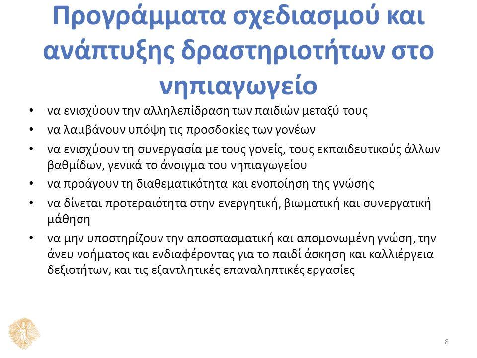 Η θέση της Φυσικής Αγωγής στο ισχύον Αναλυτικό Πρόγραμμα Σύμφωνα με την Εύα Παυλίδου (2012: 63-67):  Οι διαθεματικές έννοιες του Δ.Ε.Π.Π.Σ.