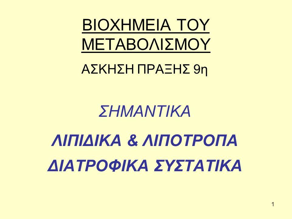 22 Σχέση χολίνης-μεθειονίνης, η ομοκυστείνη THF= tetraydro-folate, CH3-THF= methyl-tetrahydro-folate