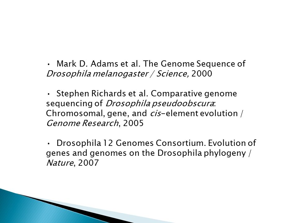 Mark D. Adams et al.