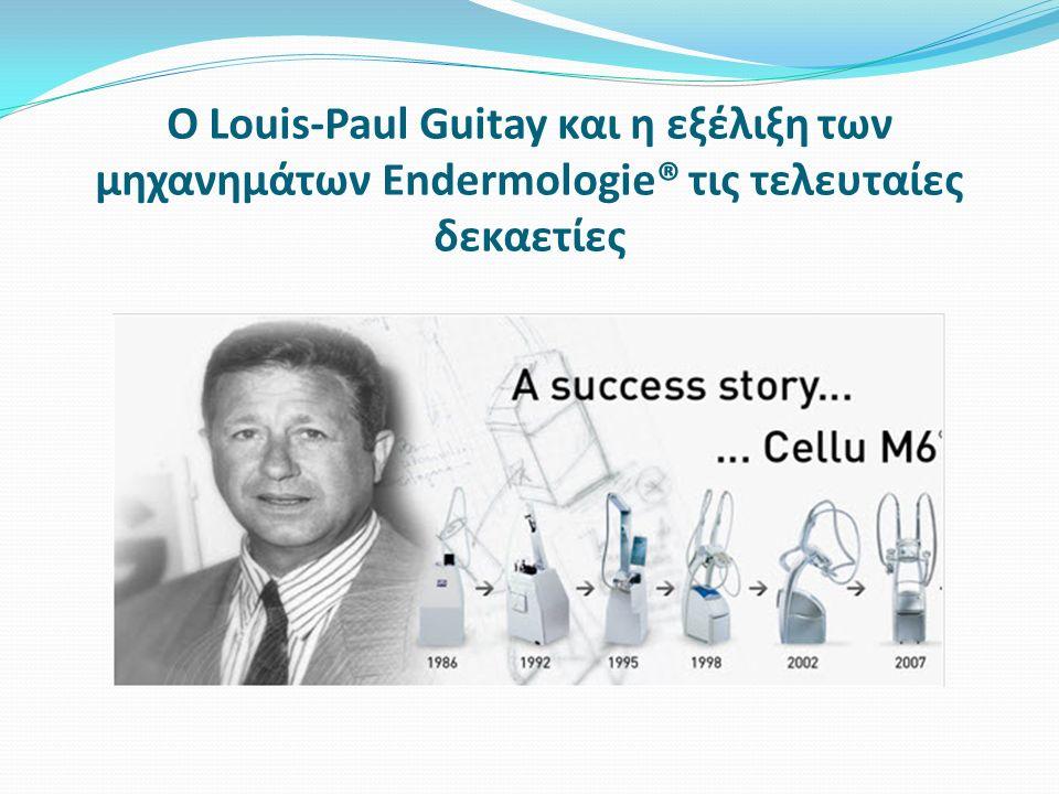 Ο Louis-Paul Guitay και η εξέλιξη των μηχανημάτων Endermologie® τις τελευταίες δεκαετίες
