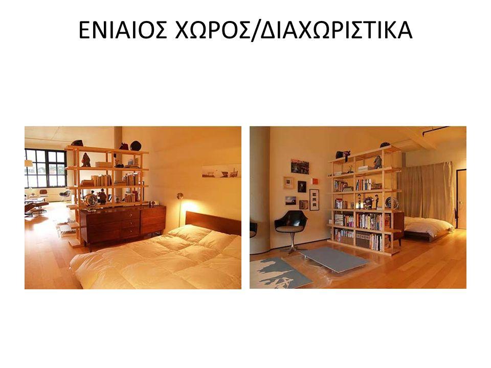 ΕΝΙΑΙΟΣ ΧΩΡΟΣ/ΔΙΑΧΩΡΙΣΤΙΚΑ