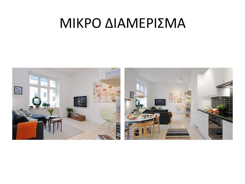 ΜΙΚΡΟ ΔΙΑΜΕΡΙΣΜΑ