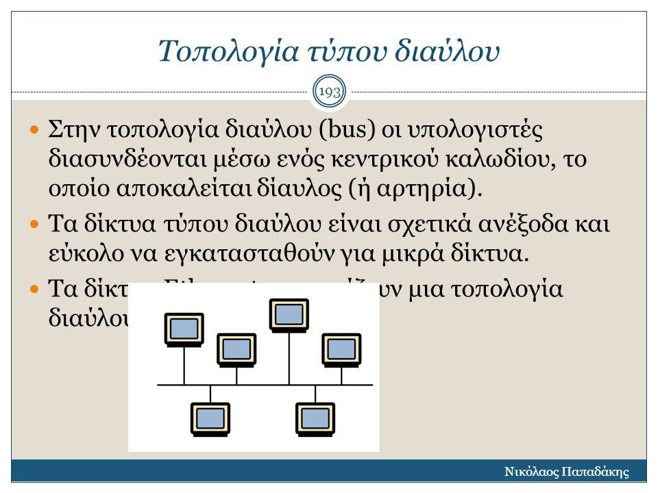 Μητροπολιτικά Δίκτυα Ο ρόλος ενός ΜΑΝ είναι παρόμοιος με εκείνο του Πάροχου Υπηρεσιών Διαδικτύου, με τη διαφορά ότι οι υπηρεσίες του παρέχονται σε εταιρικούς χρήστες για τη διασύνδεση μεγάλων τοπικών δικτύων εταιριών, οργανισμών και φορέων.