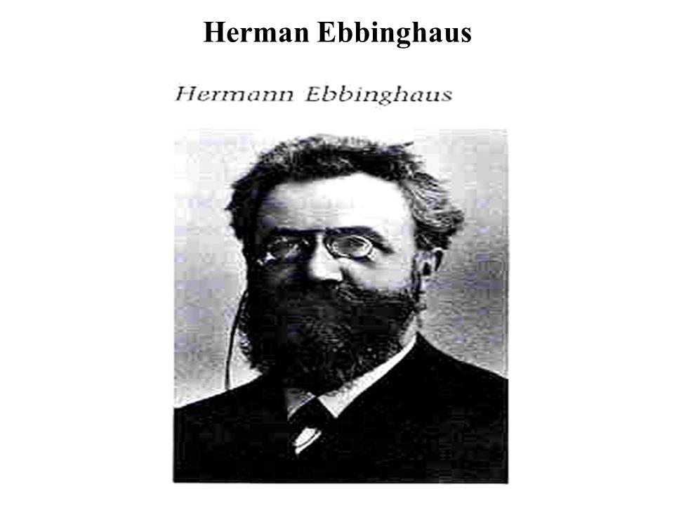 Herman Ebbinghaus