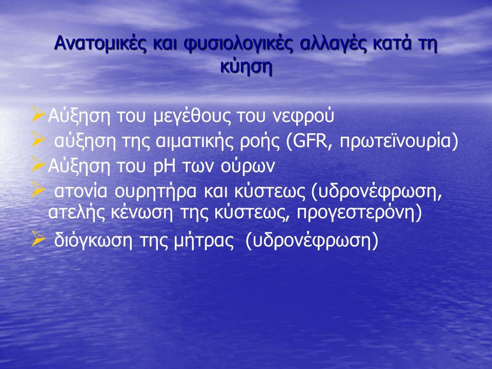 ΟΥΡΟΛΟΙΜΩΞΕΙΣ ΣΤΙΣ ΕΓΚΥΟΥΣ