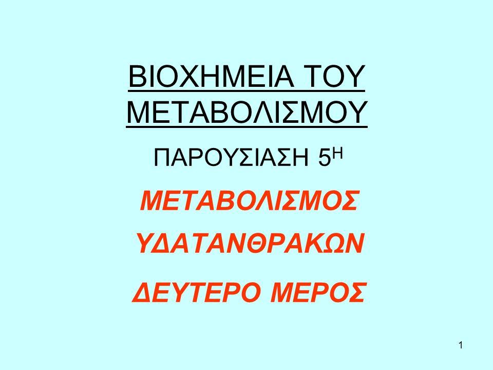 2 Η ΑΠΟΘΗΚΕΥΜΕΝΗ ΜΟΡΦΗ ΓΛΥΚΟΖΗΣ, ΤΟ ΓΛΥΚΟΓΟΝΟ Το γλυκογόνο είναι ένας πολυσακχαρίτης.