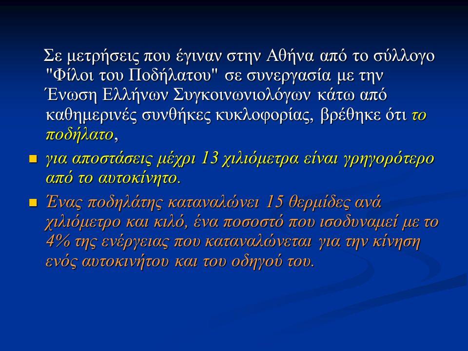 Σε μετρήσεις που έγιναν στην Αθήνα από το σύλλογο