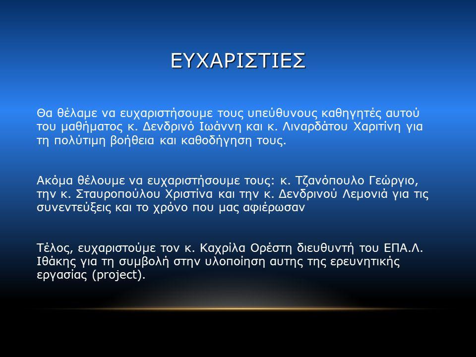 ΣΥΜΠΕΡΑΣΜΑΤΑ Ο ρολος του μηχανικού του Ε.Ν Οι επαγγελματικές συνθήκες (παρελθόν και παρόν).