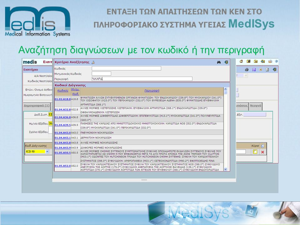 Εκτύπωση Ιατρικού Εξιτηρίου l ΙCD-10: F 20.5 l ΙΑΤΡΙΚΗ ΠΡΑΞΗ: I201163 l Ηλεκτρονικό ιατρικό εξιτήριο που μπορεί να γίνει και από τους γιατρούς