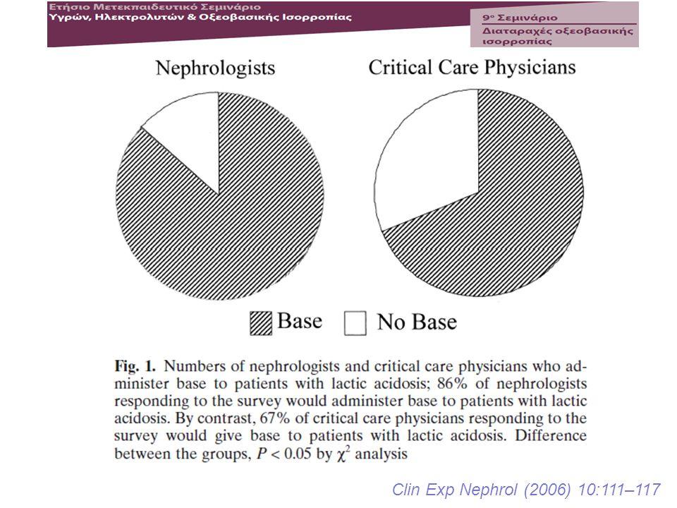 Clin Exp Nephrol (2006) 10:111–117
