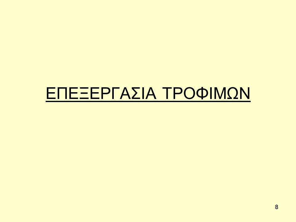 88 ΕΠΕΞΕΡΓΑΣΙΑ ΤΡΟΦΙΜΩΝ