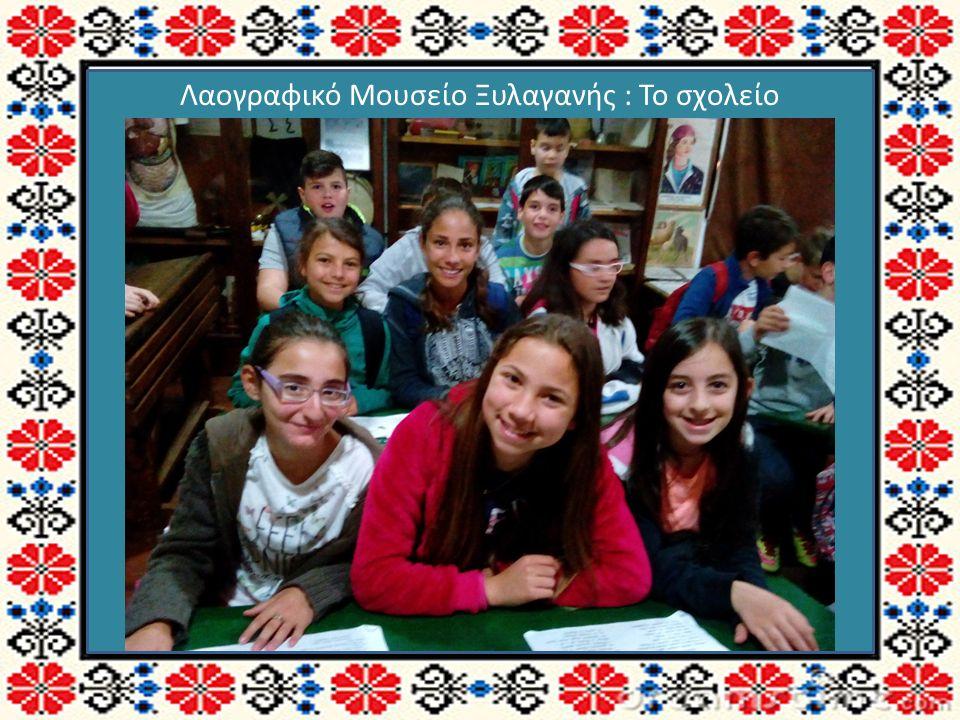 Λαογραφικό Μουσείο Ξυλαγανής : Το σχολείο