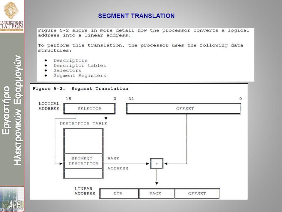 SEGMENT TRANSLATION