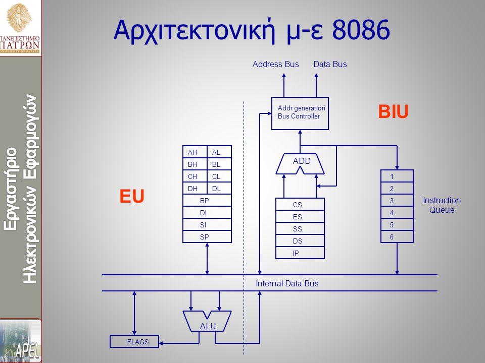 Επιλογείς (selectors) και Περιγραφείς (descriptors) Ο επιλογέας που βρίσκεται μέσα στον καταχωρητή τμήματος, επιλέγει έναν από 8192 περιγραφείς μέσα από τον ένα εκ των δύο συνολικά πινάκων περιγραφέων που υπάρχουν στο σύστημα.