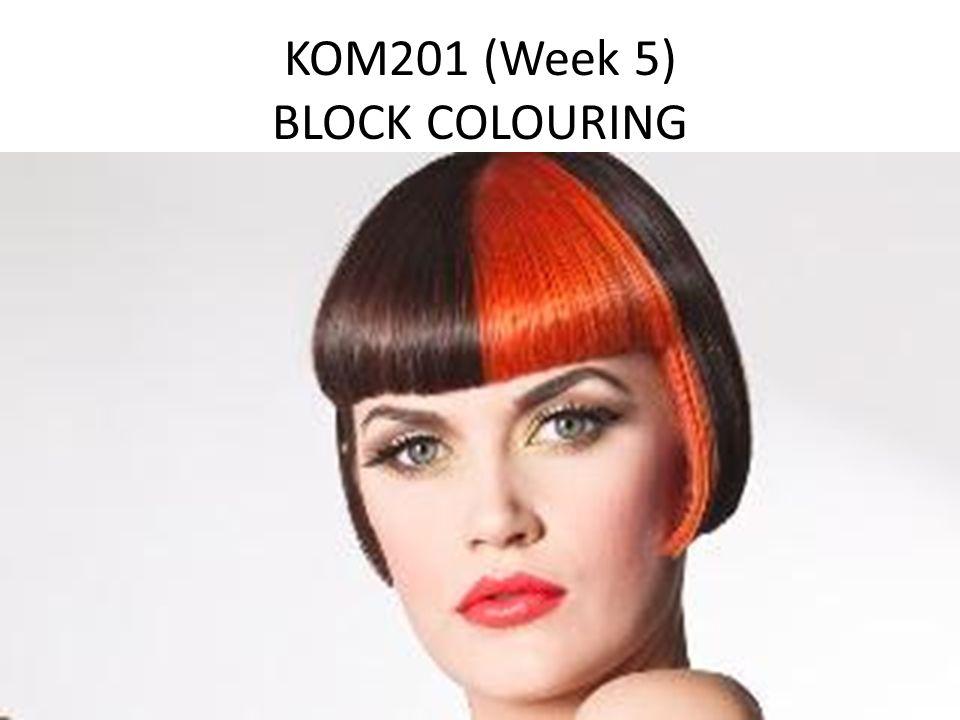 KOM201 (Week 5) BLOCK COLOURING