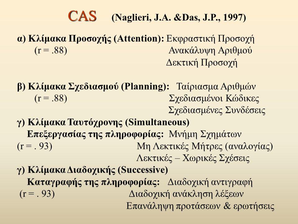 CAS CAS (Naglieri, J.A.