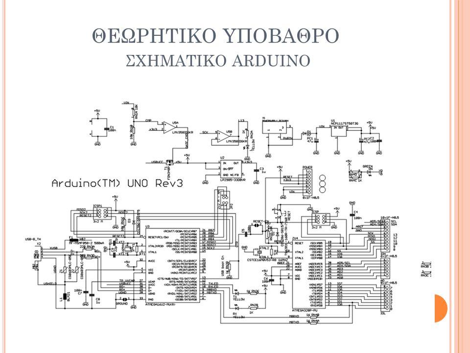 ΘΕΩΡΗΤΙΚΟ ΥΠΟΒΑΘΡΟ ΣΧΗΜΑΤΙΚΟ ARDUINO