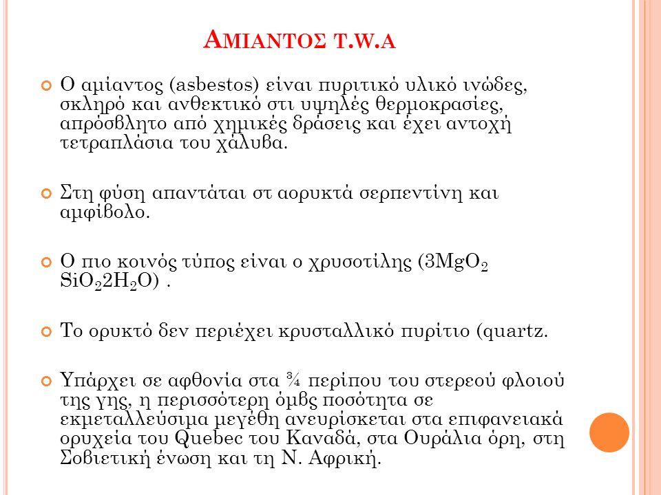 Α ΜΙΑΝΤΟΣ T.W.