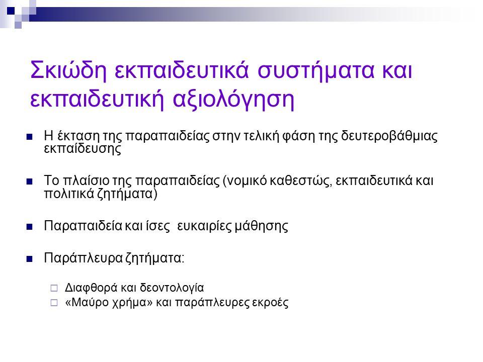 ΠΓΔΜ (Σκόπια) : Απαίτηση για «φακελάκι», διαφυλικές διακρίσεις Αδιαφορία των πανεπιστημιακών Νεποτισμός, διορισμός στενών συγγενών στα πανεπιστήμια Source: Student Survey in Macedonia, 2005.