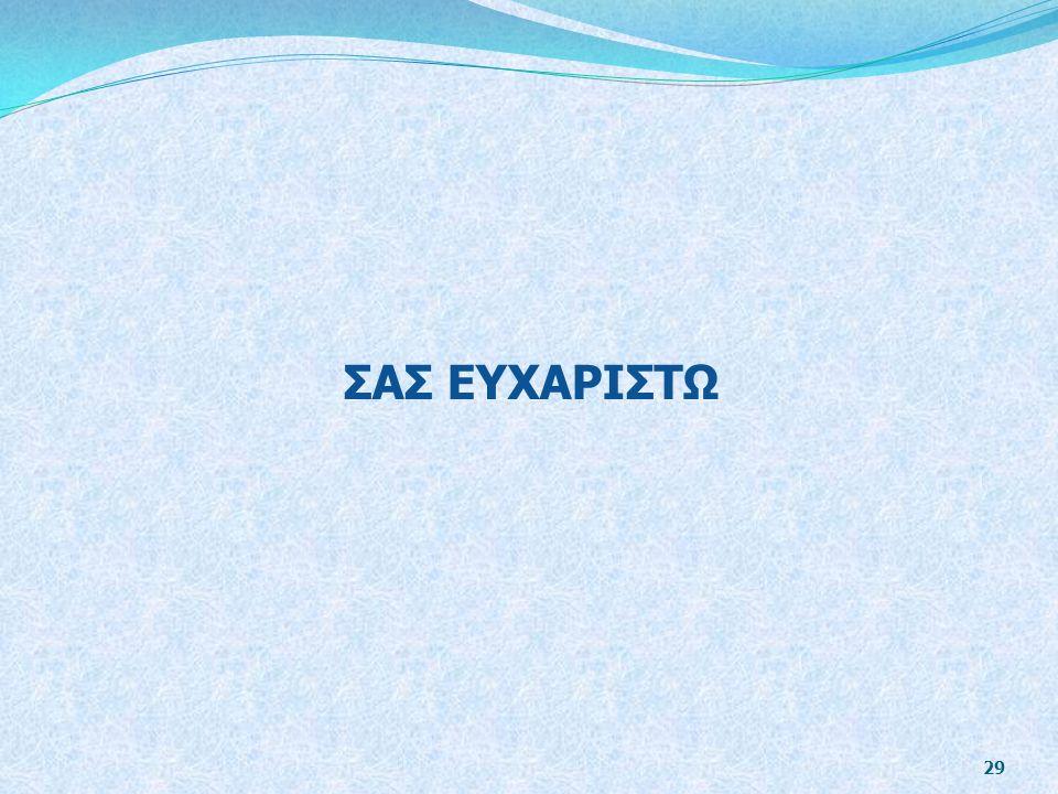 ΣΑΣ ΕΥΧΑΡΙΣΤΩ 29