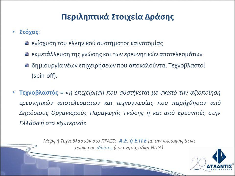 Υλοποίηση μέσω 3 κύκλων ανοιχτής προκήρυξης για την περίοδο 2002-2006 Συνολικός Προϋπολογισμός = 76,5 εκατ.