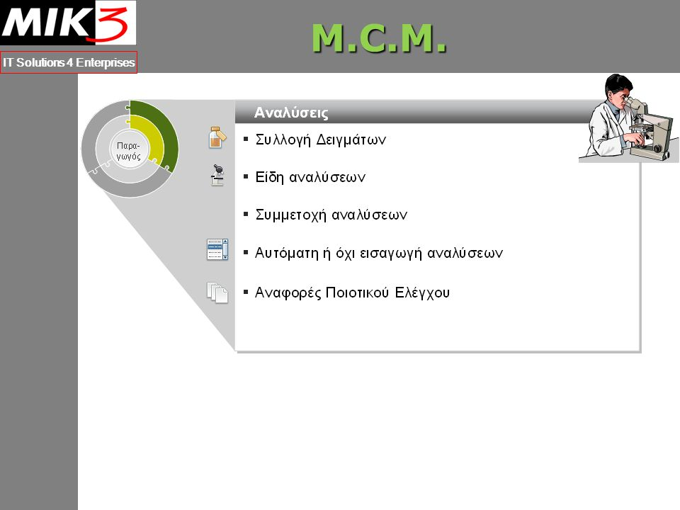 M.C.M. IT Solutions 4 Enterprises