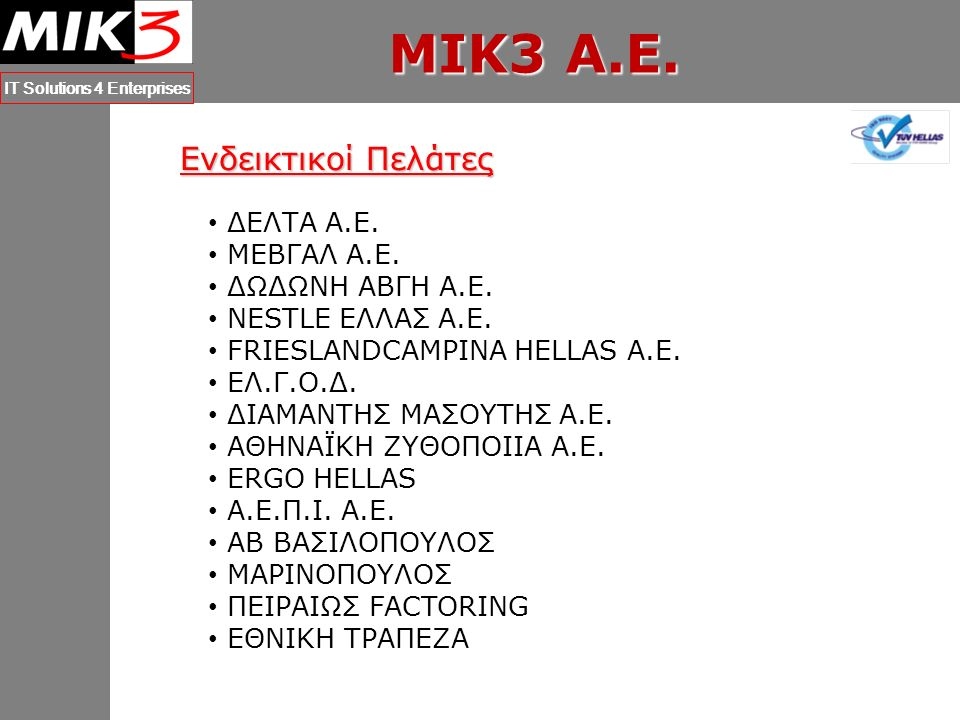 MIK3 A.E.