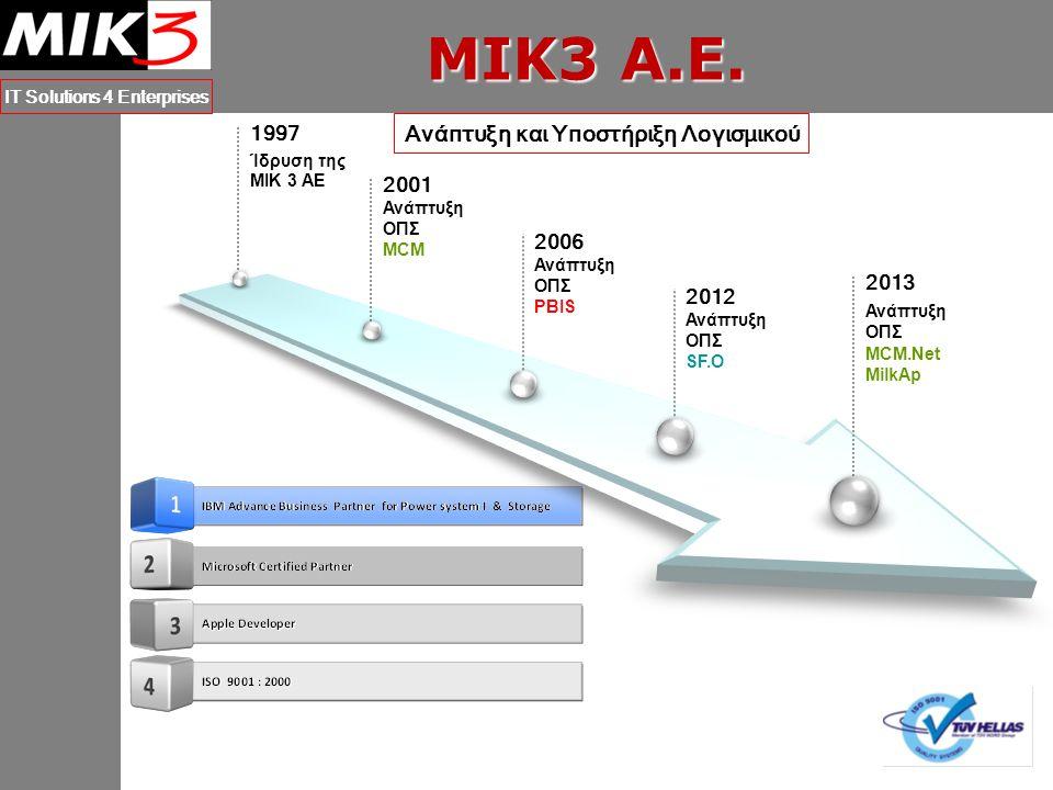 M.C.M. IT Solutions 4 Enterprises Βοήθεια (Help Desk, User Manual)