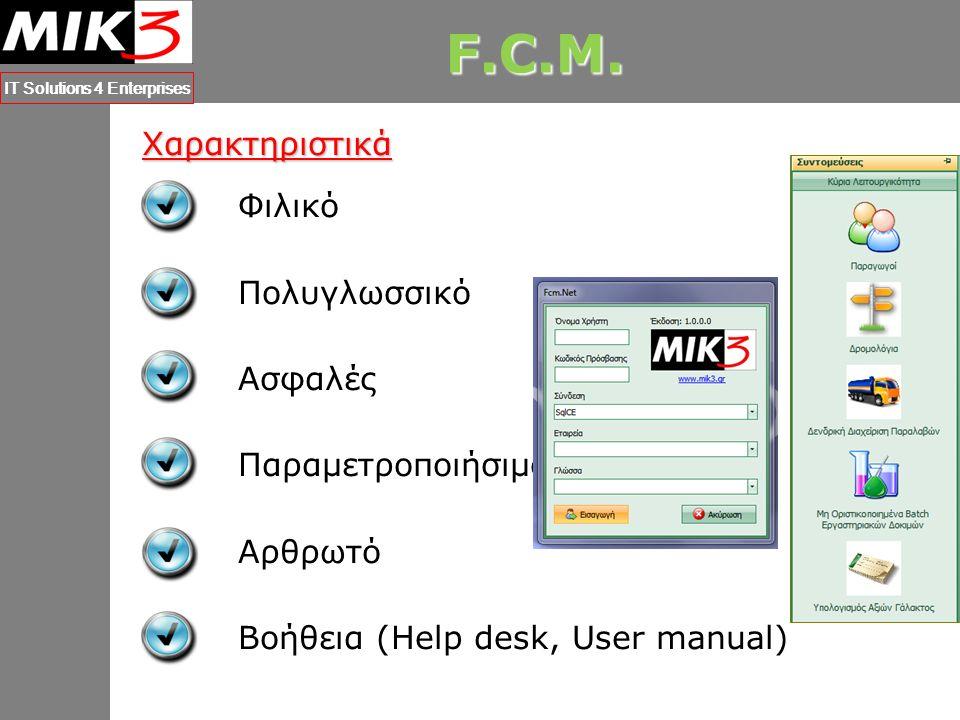 M.C.M. IT Solutions 4 Enterprises Φιλικό Χρήση Μοντέρνων Εργαλείων Κοινή Αισθητική