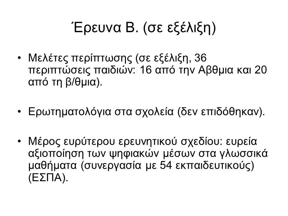 Έρευνα Β.