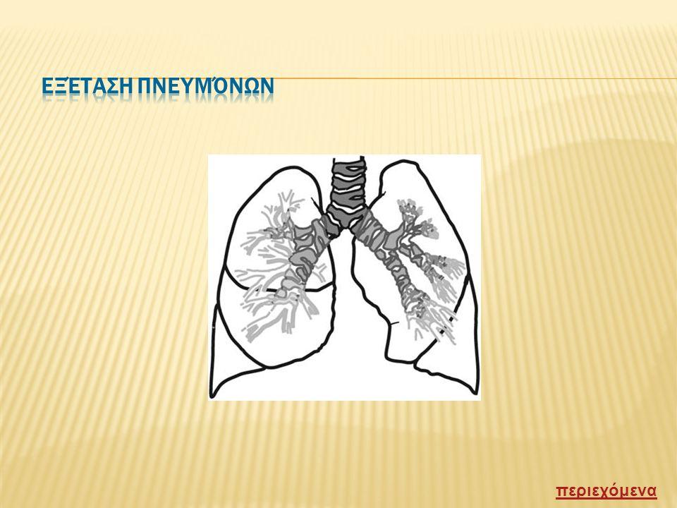  Ο αερας που εισερχεται στο σωμα περιεχει 21% οξυγονο και 0,04% διοξειδιο του ανθρακα ενώ ο αερας που φευγει από το σωμα περιεχει περιπου 15% οξυγονο και 4.5% διοξειδιο του ανθρακα.