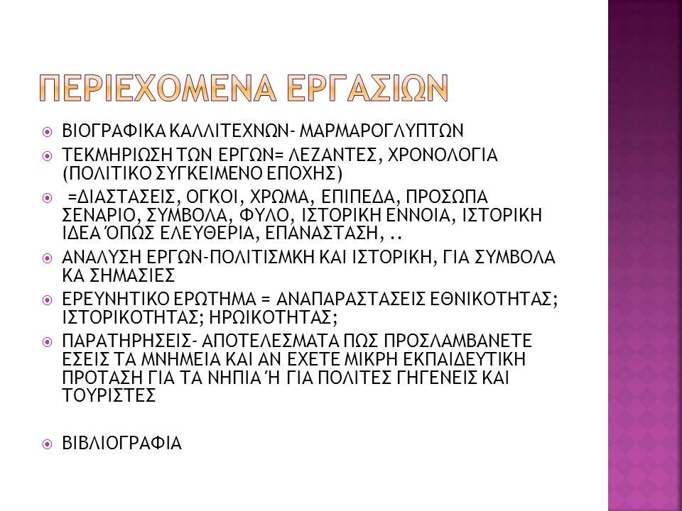  Προκοπίου, Άγγελος.Νεοελληνική τέχνη, Αθήνα, Μέλισσα, 1936.