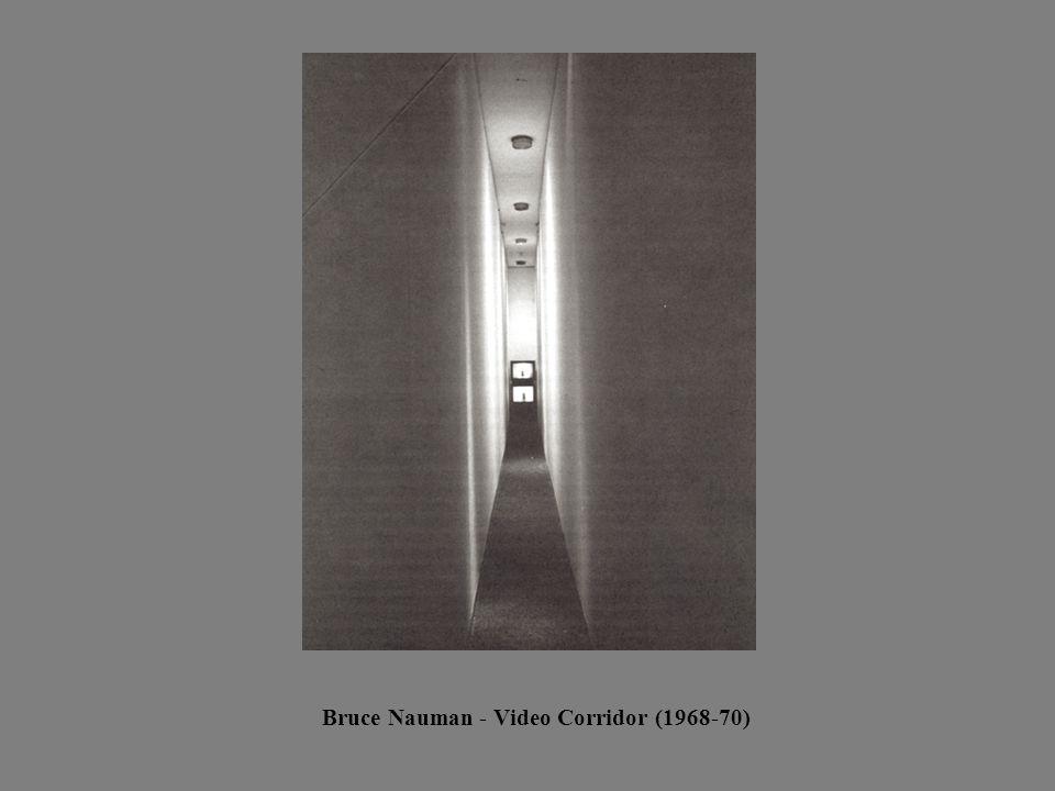 Bruce Nauman - Video Corridor (1968-70)