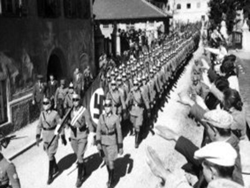Ο κόσμος βλέπει με οδύνη τη γερμανική στρατιά να καταλαμβάνει τη μία χώρα μετά την άλλη.