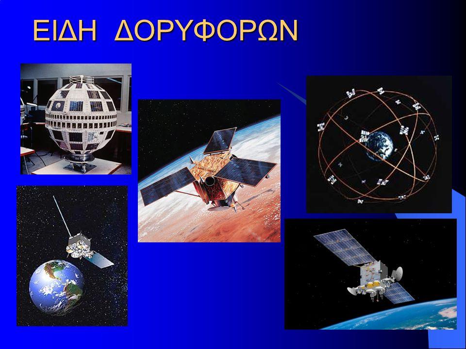 ΤΗΛΕΠΙΚΟΙΝΩΝΙΑΚΟΙ ΔΟΡΥΦΟΡΟΙ Σχεδόν όλοι οι δορυφόροι, ακόμη και οι παλαιότεροι, περιελάμβαναν κάποιον τηλεπικοινωνιακό εξοπλισμό.