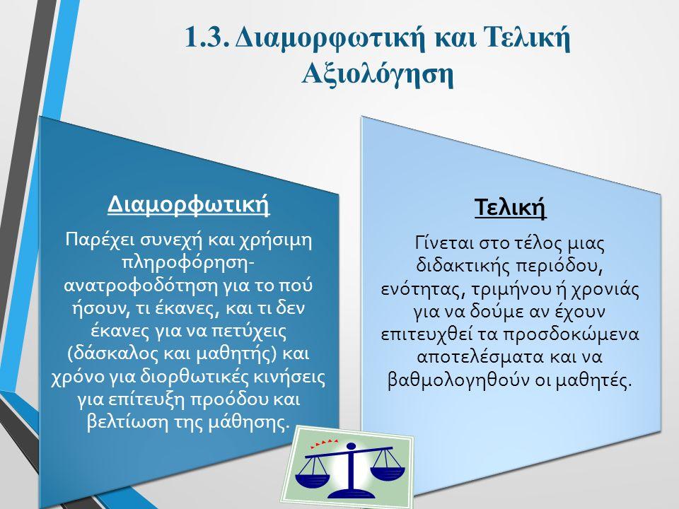 2.1.Σύγχρονες διεθνείς τάσεις (Ι) 1.