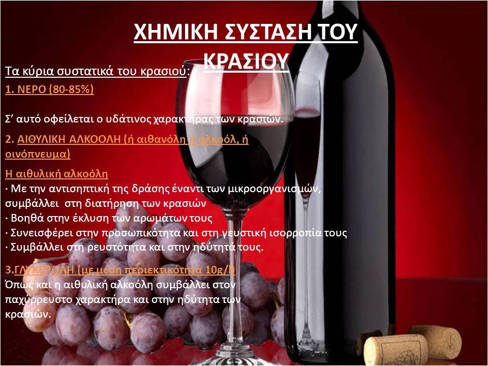 Τα μπουκάλια κρασιού πρέπει πάντα να αποθηκεύονται οριζόντια, σε γωνία 45 ° με το φελλό προς τα κάτω ή κάπου στο ενδιάμεσο.