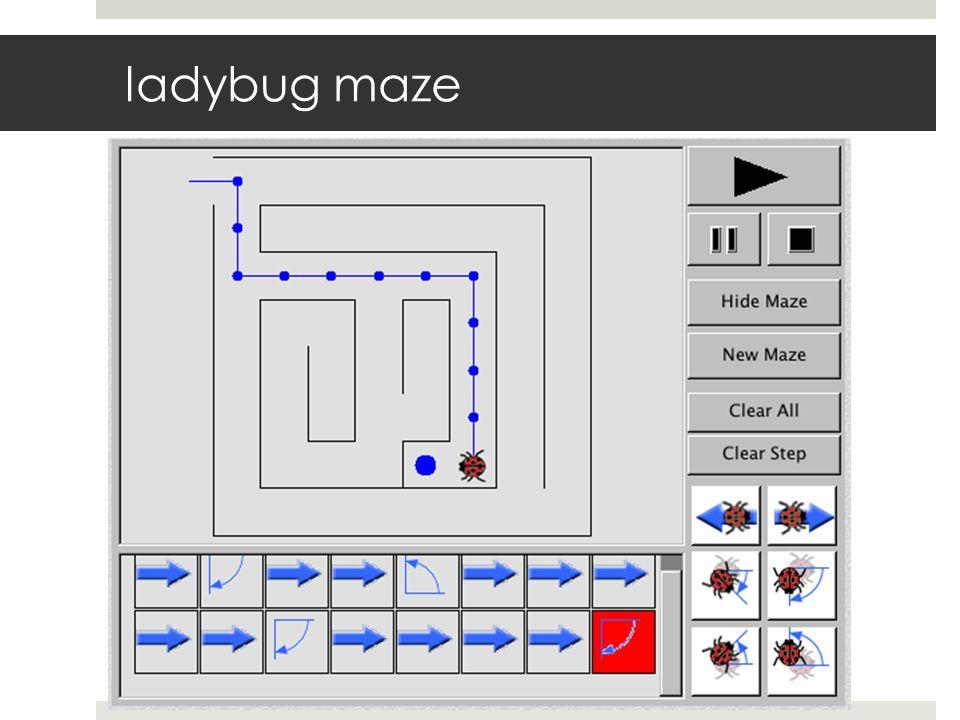 ladybug maze