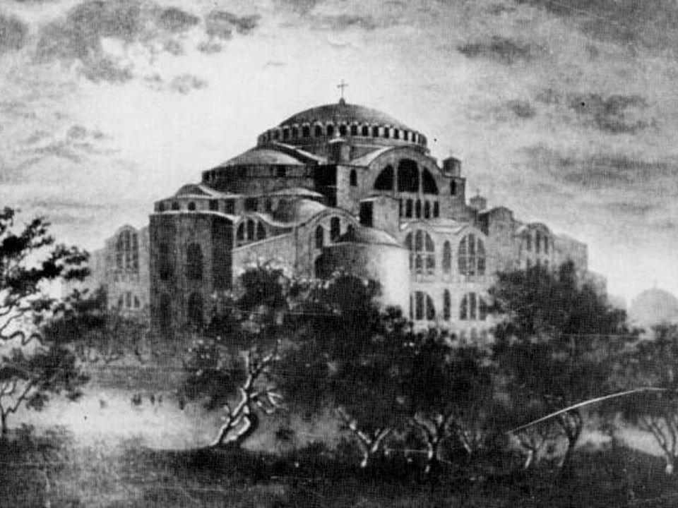 Ο ρυθμός της τρουλαίας Βασιλικής ή Βασιλικής με Τρούλο, εμφανίστηκε τον 6ο μ.Χ.
