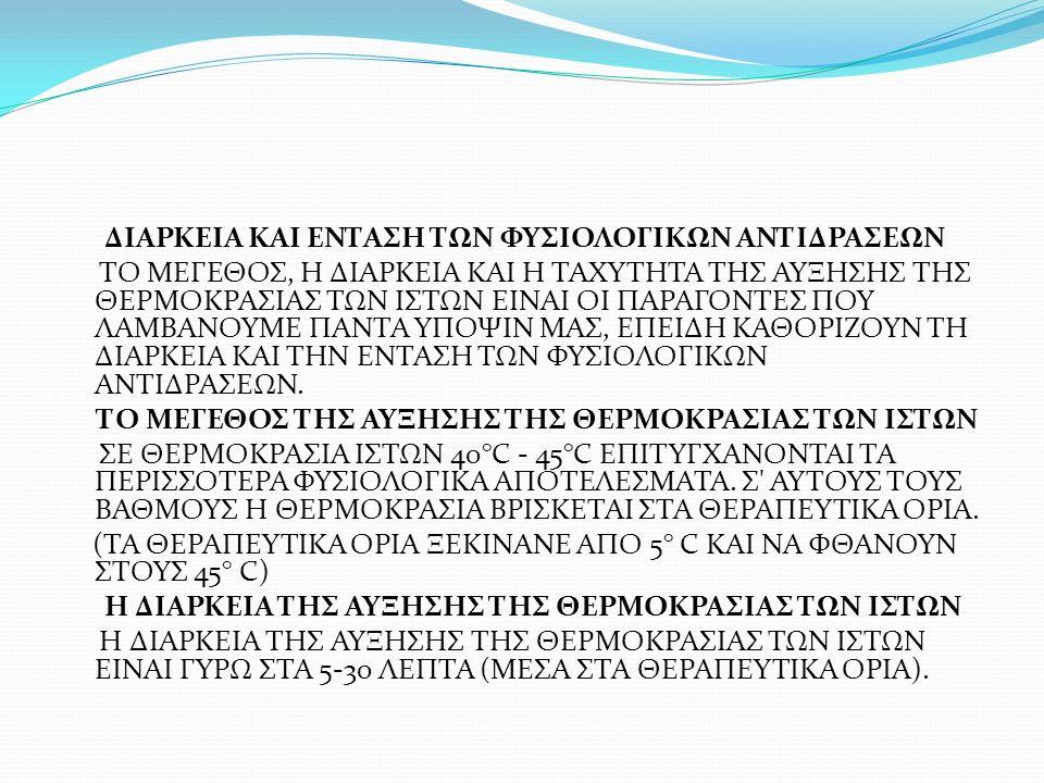 ΜΠΑΝΙΑ ΔΙΑΦΟΡΩΝ ΘΕΡΜΟΚΡΑΣΙΩΝ ΑΥΤΗ Η ΜΕΘΟΔΟΣ ΔΕΝ ΕΙΝΑΙ ΤΙΠΟΤΑ ΑΛΛΟ ΑΠΟ ΕΜΒΥΘΥΝΣΕΙΣ ΠΕΡΙΟΧΩΝ ΤΟΥ ΣΩΜΑΤΟΣ ΣΕ ΝΕΡΟ ΜΕ ΕΝΑΛΛΑΓΕΣ ΖΕΣΤΟΥ (37,7-43° C) ΚΑΙ ΚΡΥΟΥ (12,7-18,3° C).