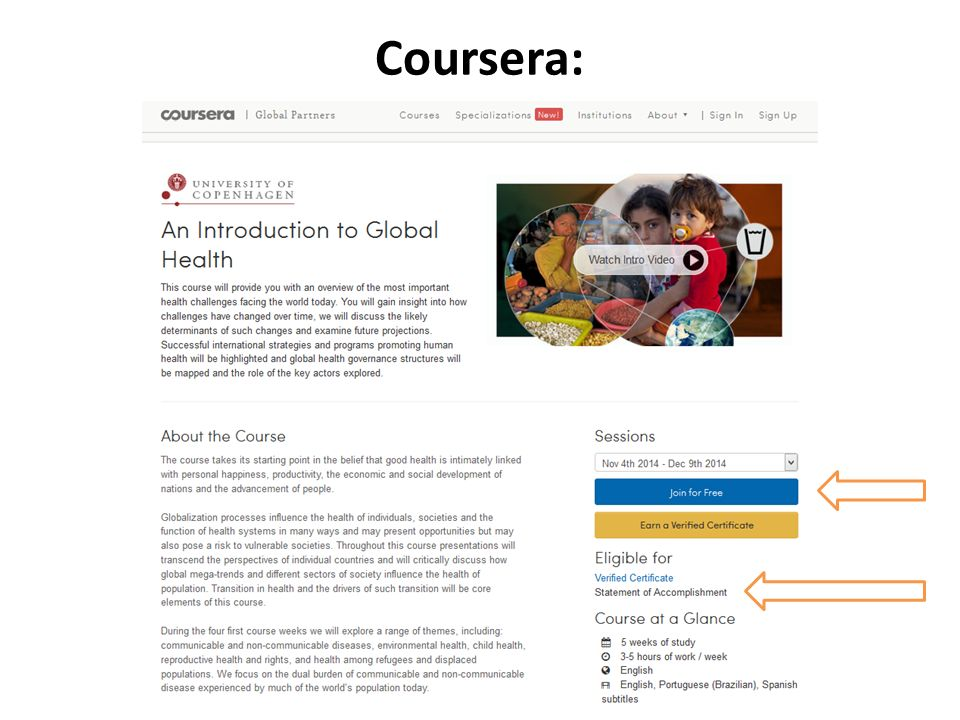 Coursera: