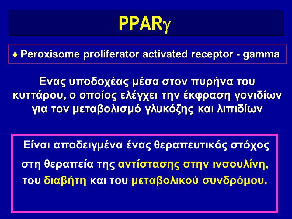 Δύο ομάδες ARBs αναγνωρίζονται τώρα Συνήθεις ARBs Αμφιλειτουργικοί ARBs Αποκλεισμός υποδοχέων Αγγειοτασίνης ΙΙ Διέγερση PPAR  + Αποκλεισμός υποδοχέων